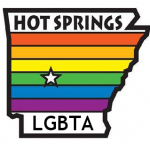 Hot Springs LGBT logo